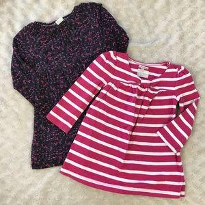 Baby Gap H&M Play Dress Bundle Floral Stripes